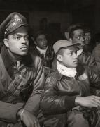 U.s. Air Force Prints - Tuskegee Airmen, 1945 Print by Granger
