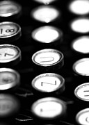 Typewriter Keys Photos - Typewriter keys by Falko Follert