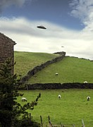 Ufo Photos - Ufo Sighting by Richard Kail