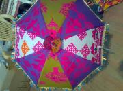 Umbrellas Tapestries - Textiles - Umbrella by Dinesh Rathi