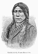 Tab Framed Prints - Ute Chief, 1879 Framed Print by Granger