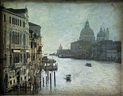 City Canal Prints - Venice Print by Bernard Jaubert