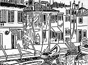 Venice Italy Print by Monica Engeler