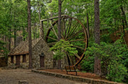 Berry Originals - Water Wheel in HDR by Jason Blalock