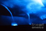 Supercell Prints - Waterspouts Print by Science Source