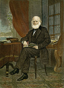 William Bryant Posters - William Cullen Bryant Poster by Granger