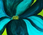 Windmill Flower Print by Marsha Heiken