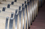 Wine Barrel Photo Metal Prints - Wine barrels Metal Print by Mats Silvan