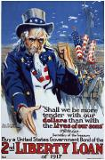 Sayre Posters - World War I: Liberty Loan Poster by Granger