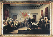 John Stockton Prints - Declaration Of Independence Print by Granger