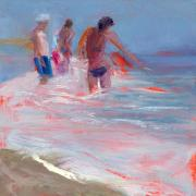 South Beach Paintings - RCNpaintings.com by Chris N Rohrbach