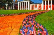 Washington Art - 3000 Flags by Kathy Jennings