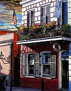 Ireland Drawings - 31  Irish Rose Pub by John Boles
