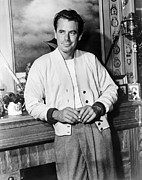 1957 Movies Photo Framed Prints - 310 To Yuma, Glenn Ford, 1957 Framed Print by Everett