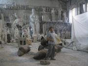 Marmo Carrara Sculptures - The woman metaphysics by Emanuele Rubini