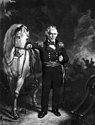 U.s Army Prints - Zachary Taylor (1784-1850) Print by Granger