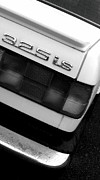 Bmw Racing Classic Bmw Photos - 325i Abstract Angle Rear BW by Kevin D Davis