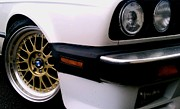 Bmw Racing Classic Bmw Photos - 325i Abstract by Kevin D Davis