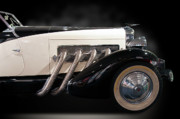 Old Car Art - 33 Duesenberg by Kurt Golgart