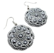 Gray Jewelry - Earrings by Gorean Olga