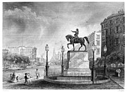Union Square Prints - George Washington Print by Granger