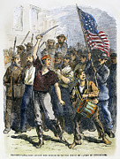 Drummer Art - Great Railroad Strike, 1877 by Granger