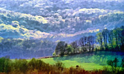 Panorama Mountain Images Prints - Landscape Print by Odon Czintos