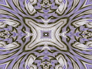 Purple Kaleidoscopes. Prints - Tunnel Print by Michele Caporaso