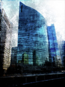 333 Framed Prints - 333 Wacker Drive Framed Print by David Bearden