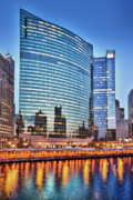 333 Framed Prints - 333 Wacker Drive Framed Print by Donald Schwartz