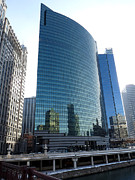 333 Prints - 333 Wacker Drive perspective Print by David Bearden