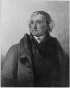 Thomas Sully Prints - Thomas Jefferson (1743-1826) Print by Granger