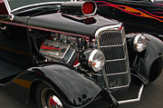 Classic Ford Roadster Prints - 35 Cabriolet Print by Bill Dutting