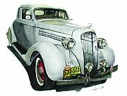 Antique Car Originals - 35 Desoto by Ferrel Cordle