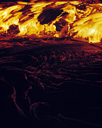 Hawai Prints - Lava Flow Print by G. Brad Lewis