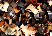 Filmstrip Art - 35mm Film by Guy Harnett