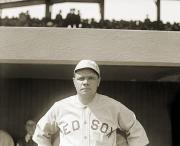 Boston Red Sox Prints - George H. Ruth (1895-1948) Print by Granger