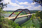 Austin 360 Posters - 360 Bridge Poster by Eddy Chance