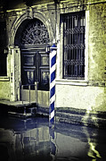 Door Reflections Posters - Venezia Poster by Joana Kruse