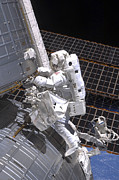 Hardware Photos - Astronaut Participates by Stocktrek Images