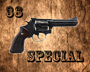 Caliber Framed Prints - 38 Special Framed Print by Cheryl Young