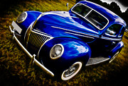 V8 Car Photos - 39 Ford V8 Coupe by Phil