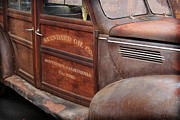 Historic Vehicle Prints - 39 SOC Woody Print by Bill Dutting