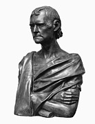 Statue Portrait Prints - Thomas Jefferson (1743-1826) Print by Granger