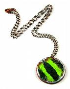 Modern Jewelry Originals - 3Fine Design Diagonal Delight Necklace by Tracy Behrends