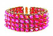 Chic Jewelry - 3Fine Design Sizzle Cuff by Tracy Behrends
