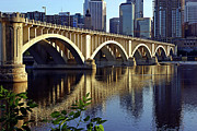 Minnesota Art - 3rd Avenue Bridge Minneapolis by Steve Sturgill