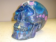 Eye Sculptures - 3rd Eye Skull by Justin Malangoni