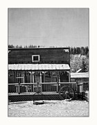 Yukon Framed Prints - 3th Avenue Framed Print by Priska Wettstein