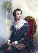 American First Lady Prints - Abigail Adams (1744-1818) Print by Granger